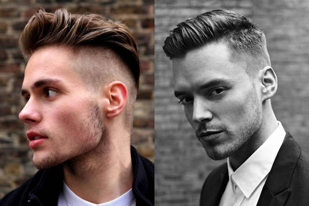 Difference between hair styling of men and women